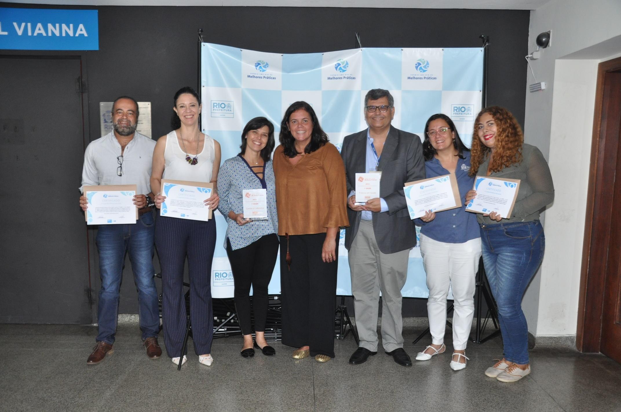 Secretaria de Saúde entrega Prêmio Melhores Práticas