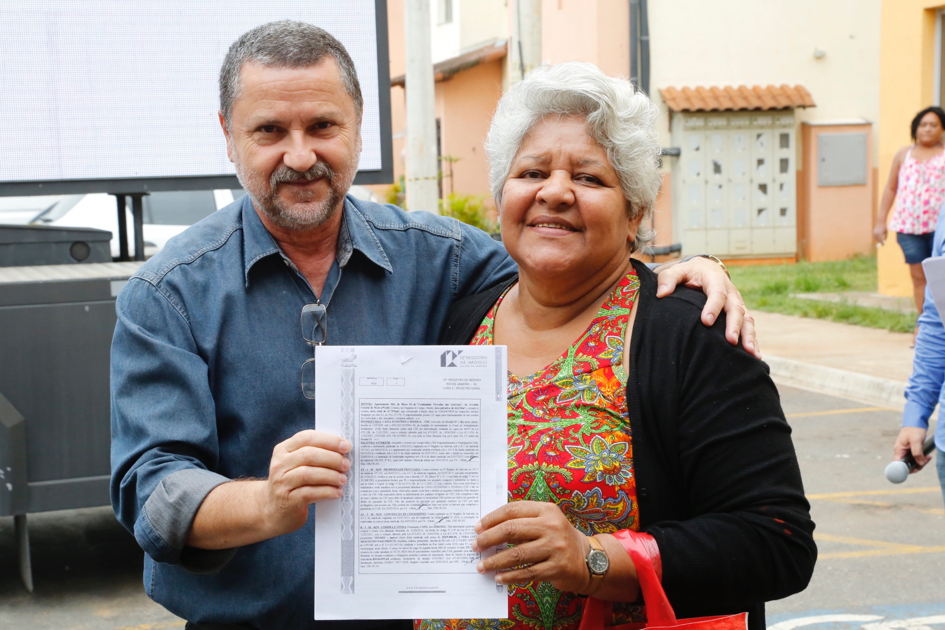 Prefeitura entrega RGIs a 471 famílias do Minha Casa Minha Vida na Zona Oeste