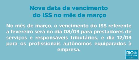 Banner ISS março