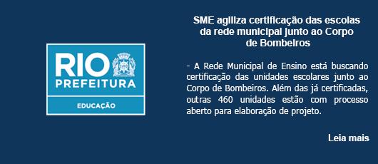 SME agiliza certificação das escolas da rede municipal junto ao Corpo de Bombeiros