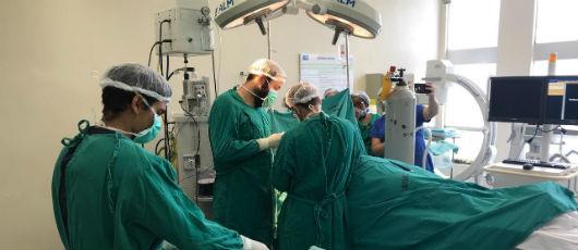 Mutirão de cirurgias ortopédicas segue registrando recordes