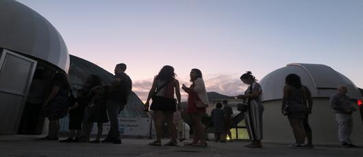 Planetário realiza Observação do Céu às quartas e sábados