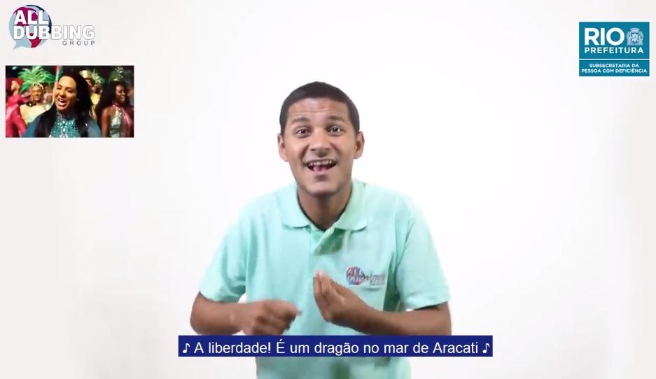 Prefeitura traduz sambas-enredo de 2019 para Língua Brasileira de Sinais