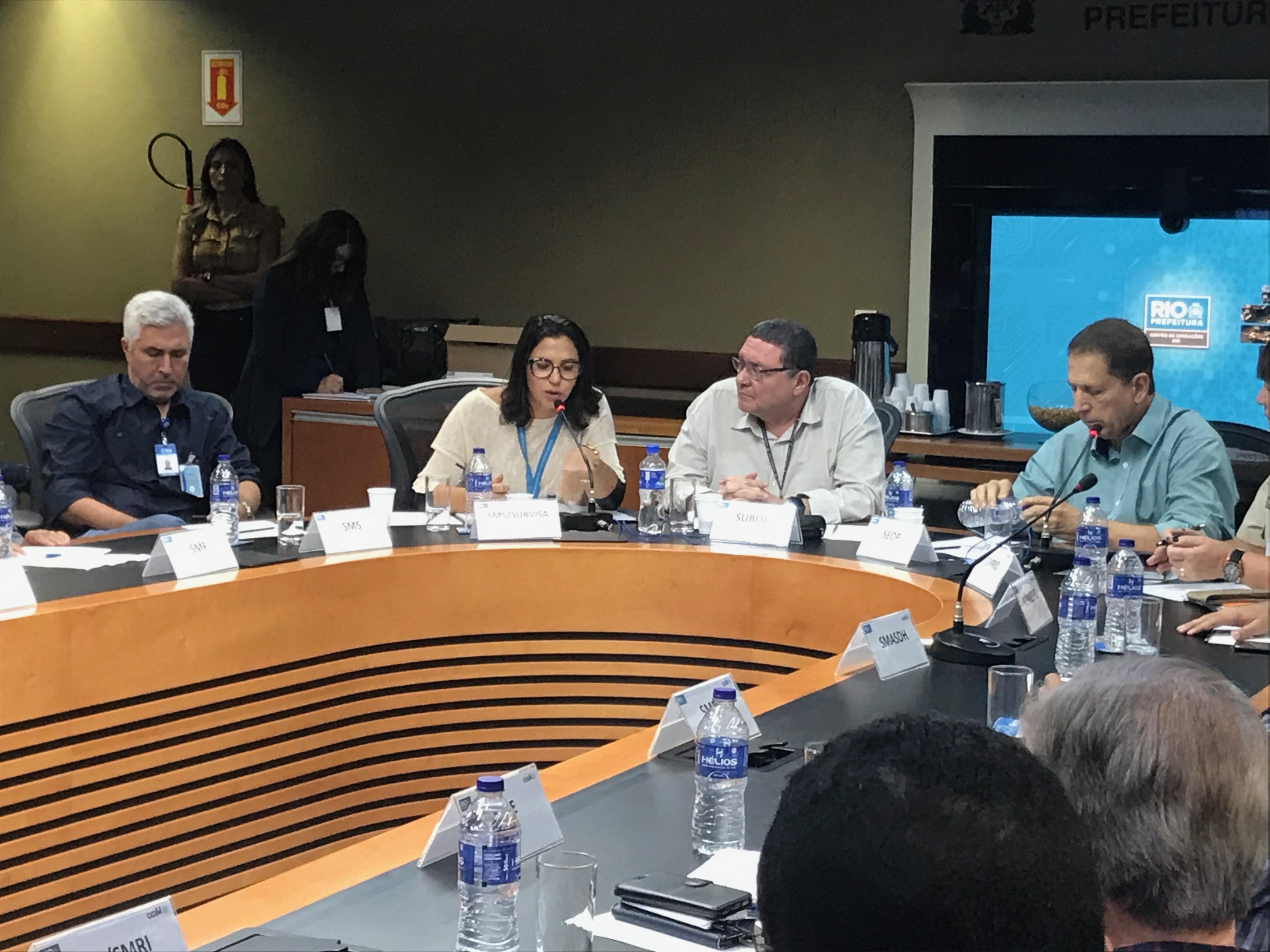 Saúde pública é tema de reunião de Câmara Técnica conduzida pela Subvisa
