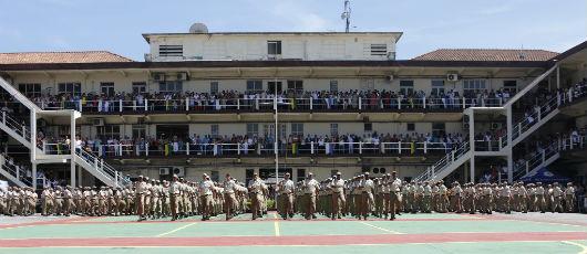 Crivella prestigia formatura de 248 guardas municipais