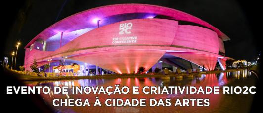 Evento de inovação Rio2C chega à Cidade das Artes
