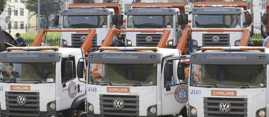 Comlurb lança novos veículos e equipamentos