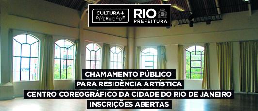 Centro Coreográfico abre chamamento público para residência artística