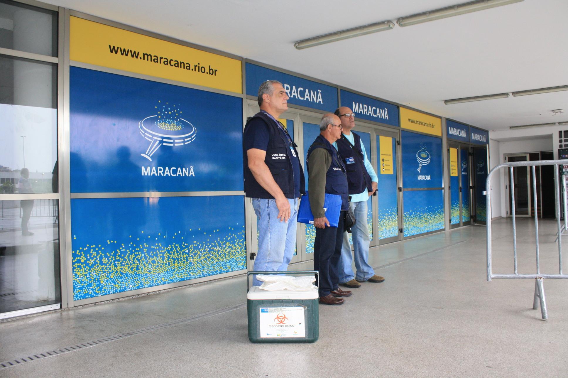 Copa América: Vigilância Sanitária faz nova inspeção no Maracanã