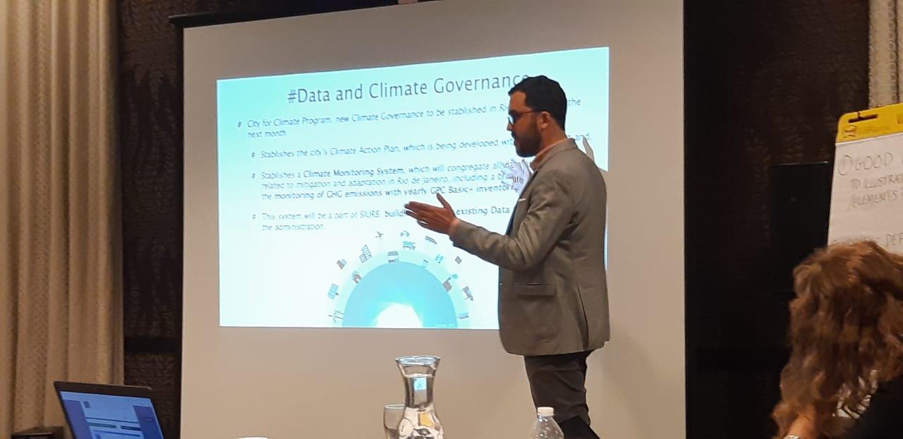 IPP participa de evento internacional sobre gestão de dados para governança climática