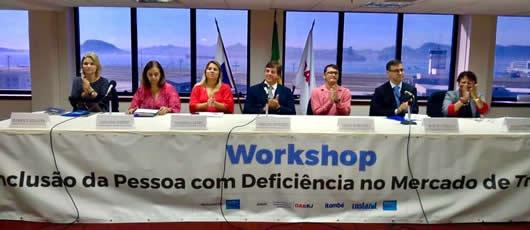 Workshop sobre inclusção de PcD's no mercado de trabalho
