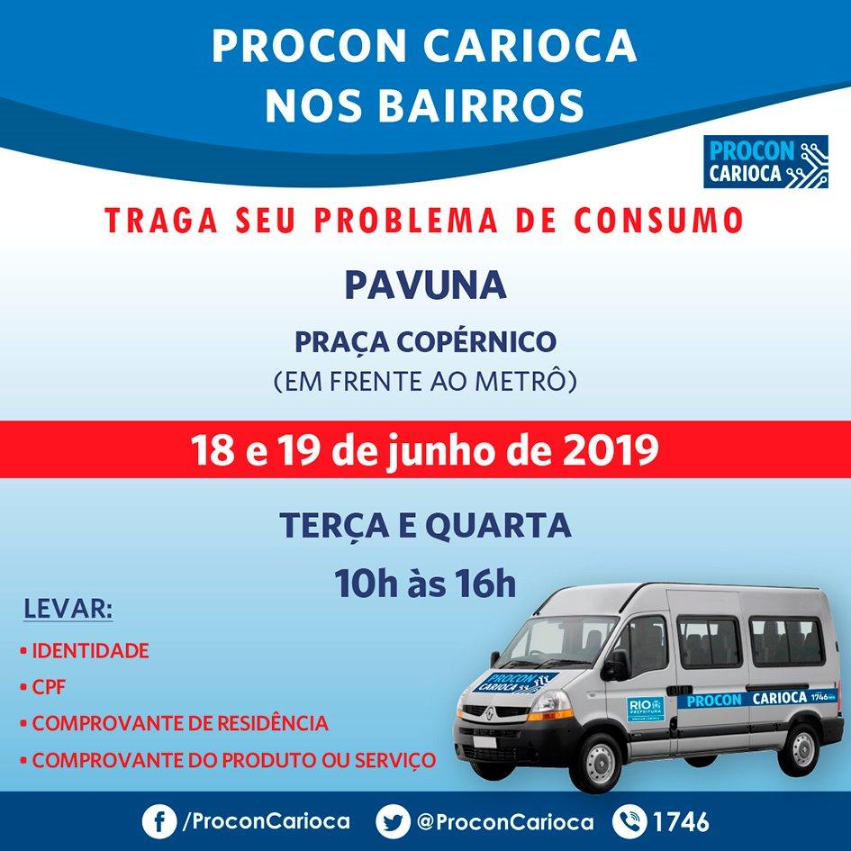 Pavuna recebe Procon Carioca