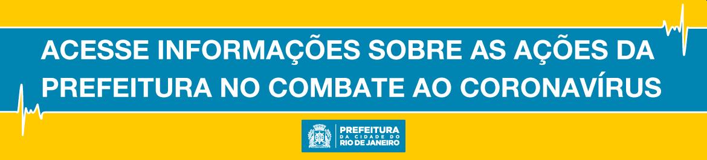 Acesse informações sobre as ações da Prefeitura no combate ao Coronavírus! E, se puder, fique em casa!